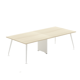 Abbie Form 7 Conference Table with Wirebox Top 2 pcs Series 7M2-XXXX
