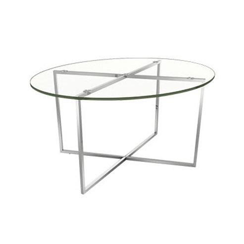 Coffee Table PISA Glass Top (วงรี) PIC86RG