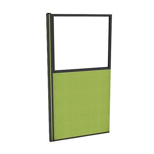 ครึ่งกระจกใสแบบมีเฟรมไม่มีกล่องไฟ (H180) PG1840