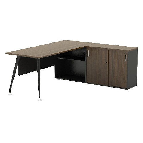 Executive Desk ABBIE Form7 (Model 1 with modesty) 7C1R-1816