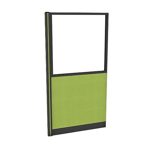 ครึ่งกระจกใสแบบมีเฟรมกล่องไฟล่าง (H180) PGF1840