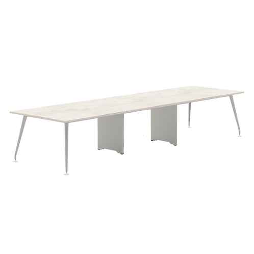 Abbie Form 7 Conference Table with Wirebox Top 3 pcs Series 7M2-451XX