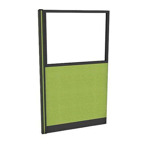 ครึ่งกระจกใสแบบมีเฟรมกล่องไฟล่าง (H160) PGF1640