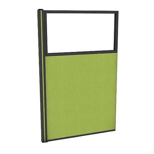 ครึ่งกระจกใสแบบมีเฟรมไม่มีกล่องไฟ (H150) PG1540