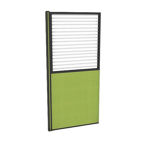ครึ่งกระจกขัดลายแบบมีเฟรมไม่มีกล่องไฟ (H200) PC2040