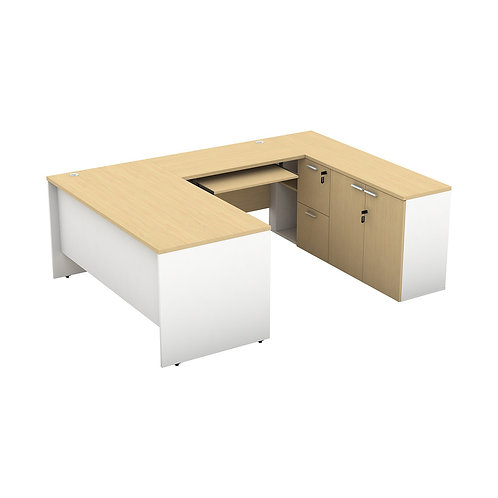 Executive Desk Form 1 Series AD01-160L