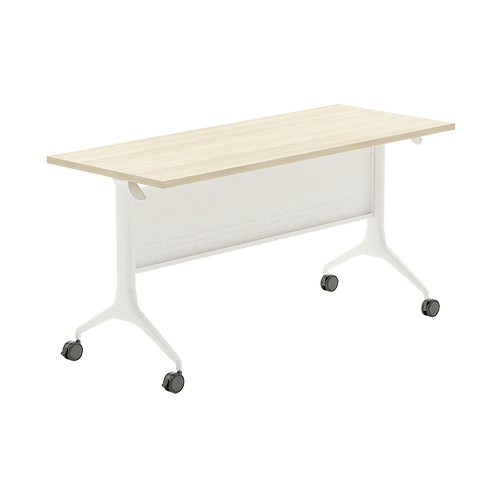 WAVE Folding Table (With Caster & Modesty Series 6FP-1X6PB)