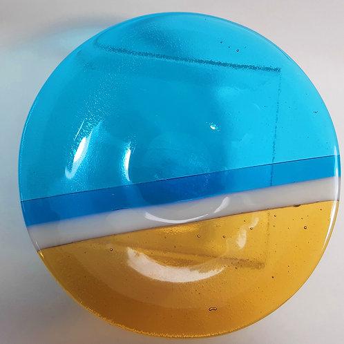 Luskentyre Sands Glass Bowl