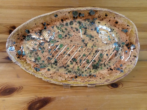 'Autumn Leaves', Freeform Platter