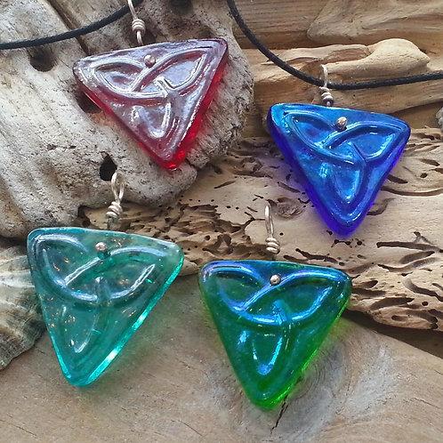 Triangular Celtic Pendant