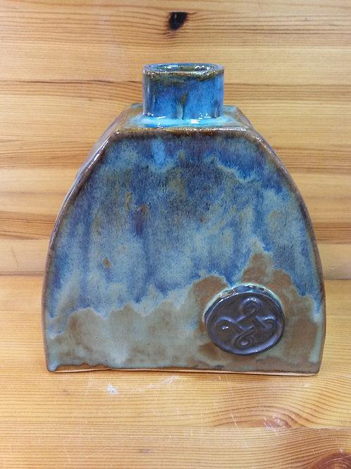 Flask / Bottle Vase in Stoneware
