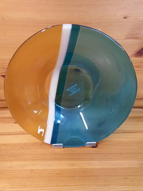 Luskentyre Sands Lge Glass Bowl