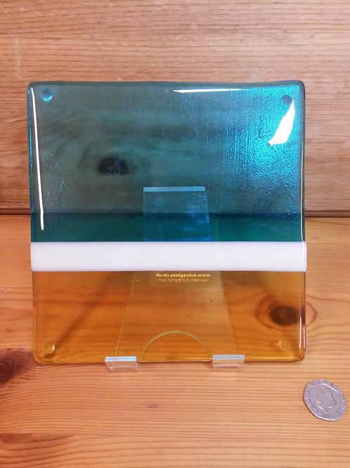 Luskentyre Sands Glass Pot Stand