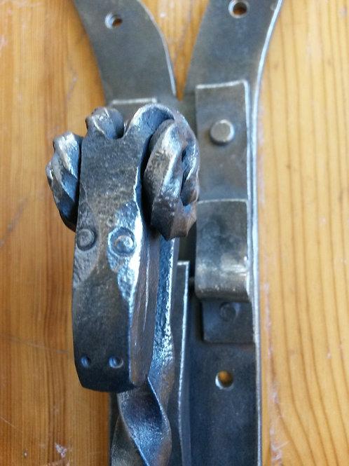 Hand forged Ram's Head Door Knocker