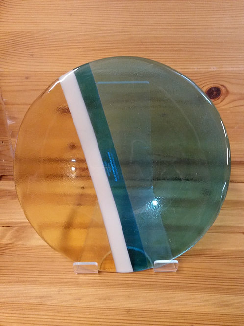 Luskentyre Sands Med Glass Bowl