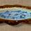 Thumbnail: 'Hydrangea'. Wavy Edged Freeform Oval Platter