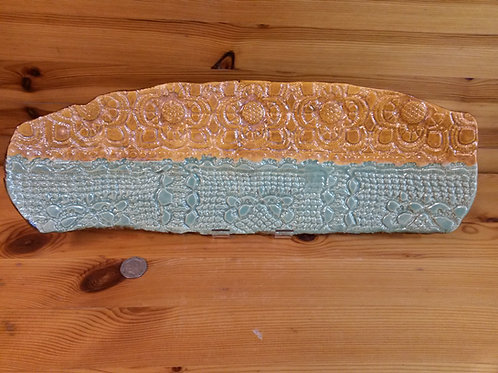 Footed Lace shelf platter