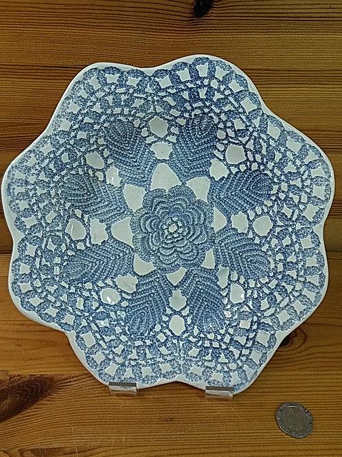 Blue Lace Dish