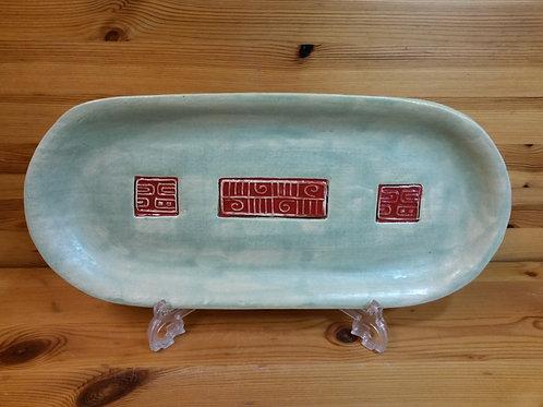 Stoneware Shelf Tray