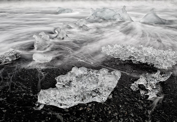 1st: Black Sand and Ice
