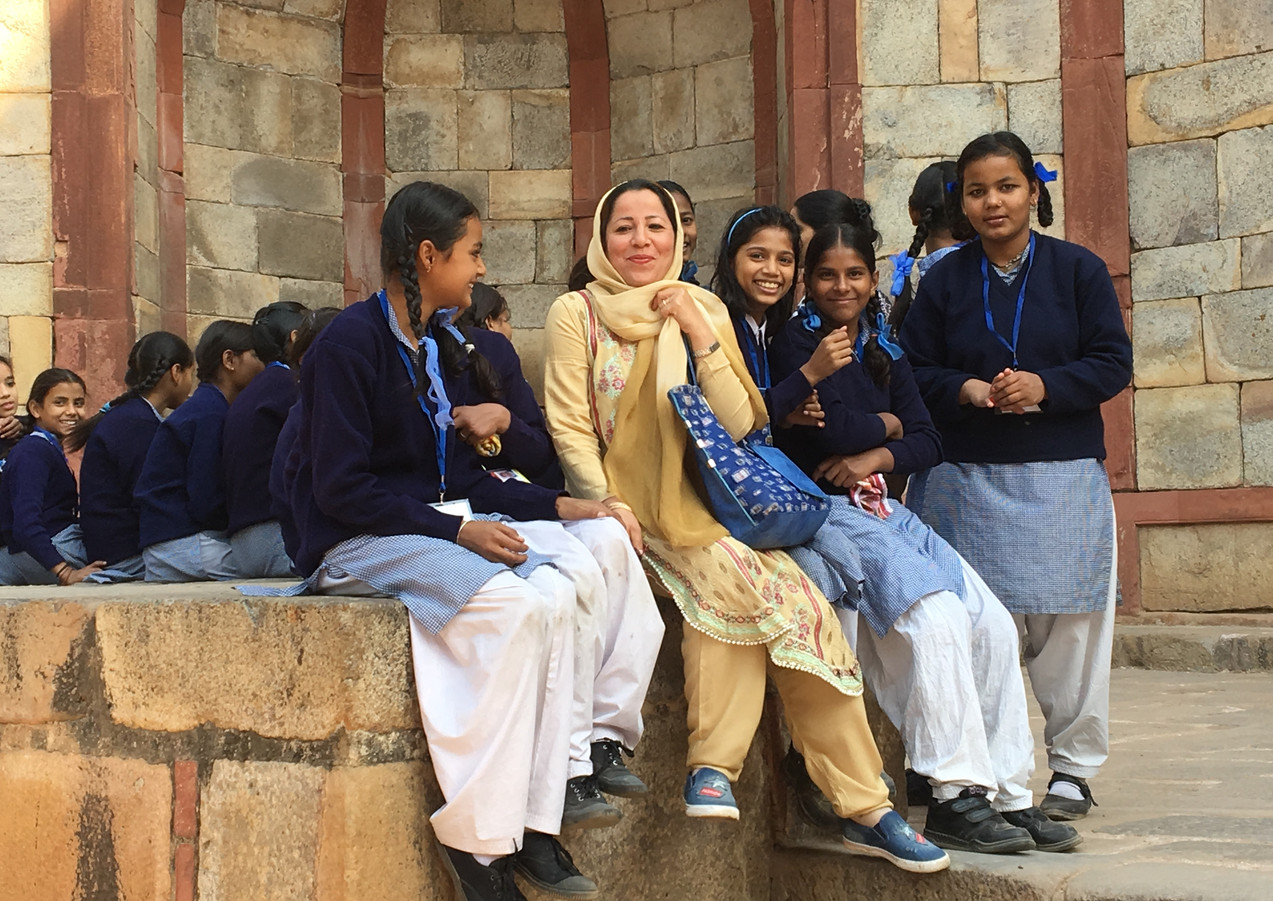 Delhi School Girls