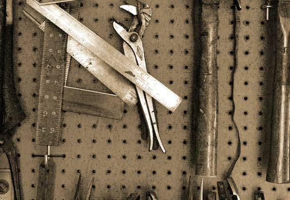2nd: Pegboard Tools