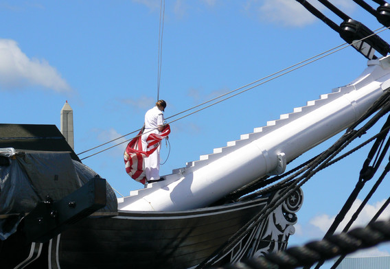 2nd: USS Constitution