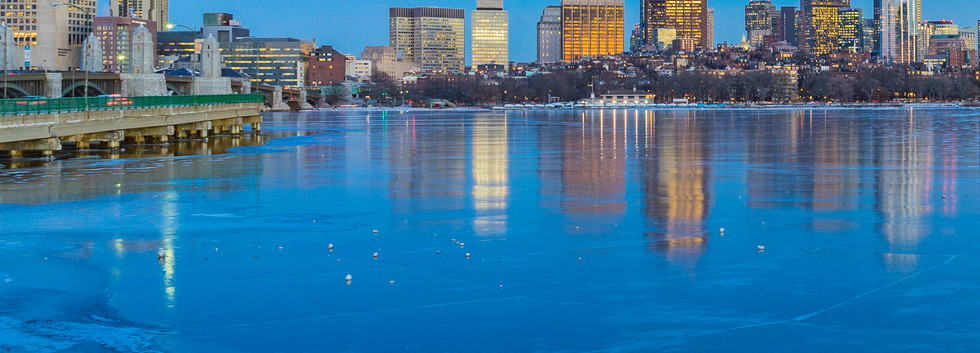 3rd - Icy River and City Lights