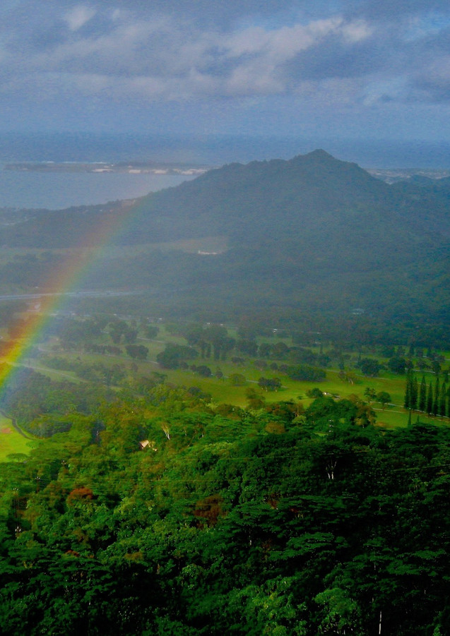 Rainbow Over O'ahu