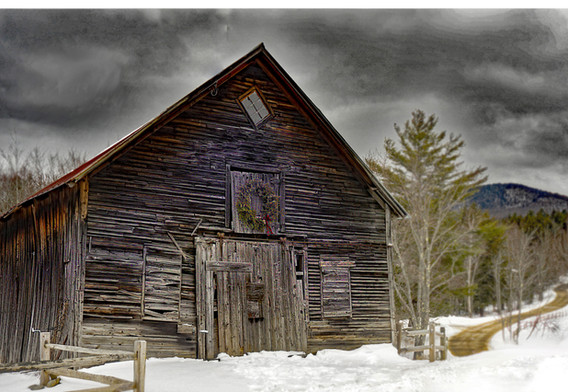 1st: Barn, Stowe VT