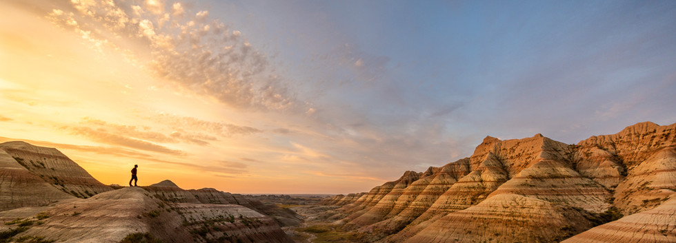 1st - Scouting Early Ligth, Badlands, NP