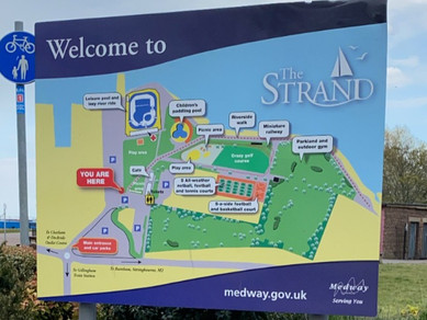 Finding the ideal place to teach someone in Medway to ride a bike isn't easy.