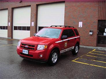 Century Service - Tillsonburg fire vehicle