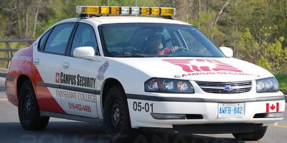 Century Service - Fanshawe College Security Vehicle