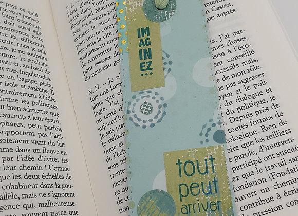 """Marque Pages """"imaginez"""""""