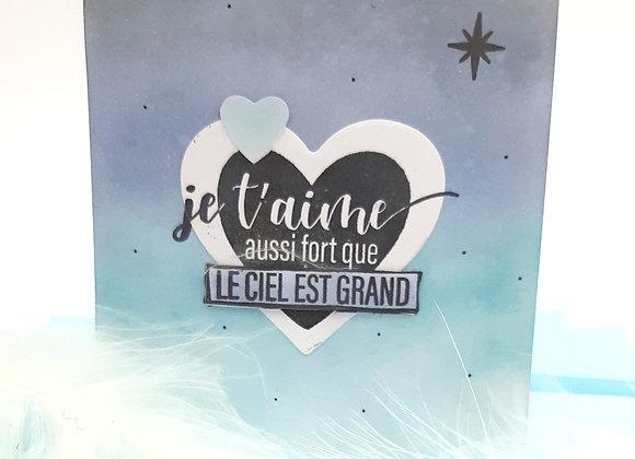 Carte Amour SV18