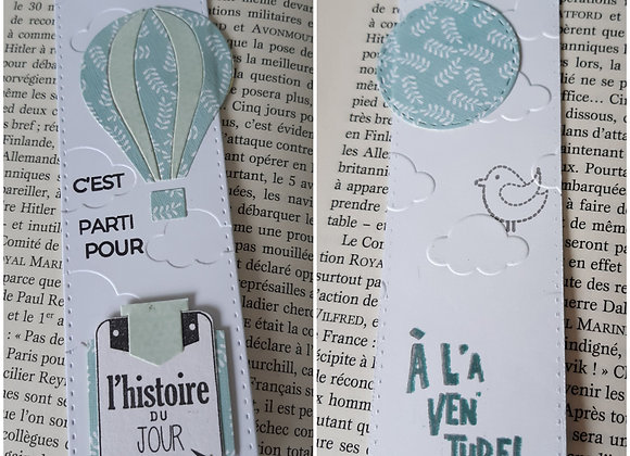 """Marque Pages """"nuages"""""""