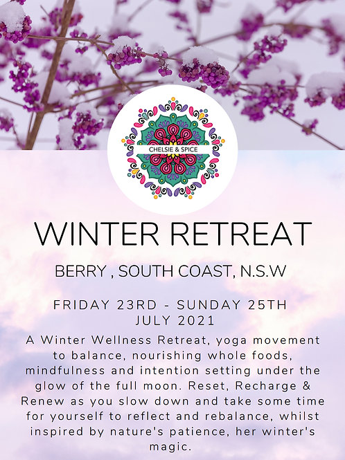 CHELSIE & SPICE WINTER YOGA RETREAT