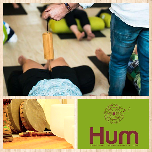 Sunday Sound Healing Session with Hum @ Chelsie & Spice