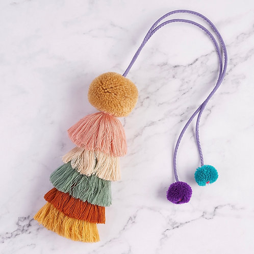 Add some colour  tassels, tie anywhere to colour your home