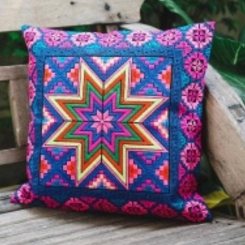 STAR CROSS STITCH Cushion Cover 40cm x 40cm