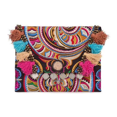 Stunning Handmade Embroidered Clutch