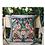 Thumbnail: 4 Birds Hill Tribe Hmong Embroidered Fair Trade Cushion Cover 40cm x 40cm