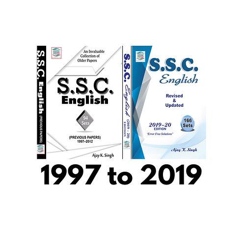 SSC English 94 SETS & SSC English 166 SETS