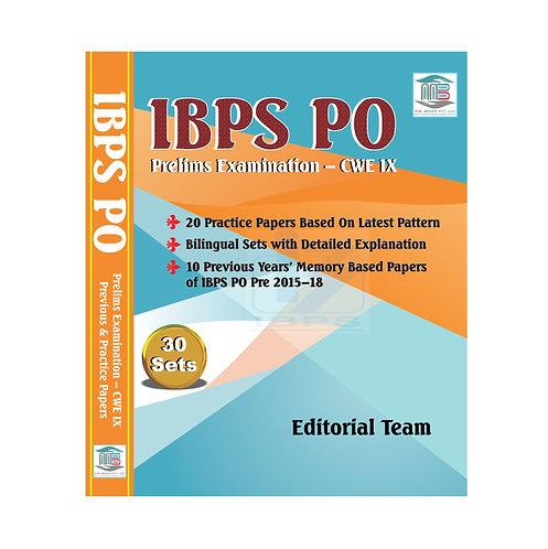 IBPS PO Prelims- CWE IX