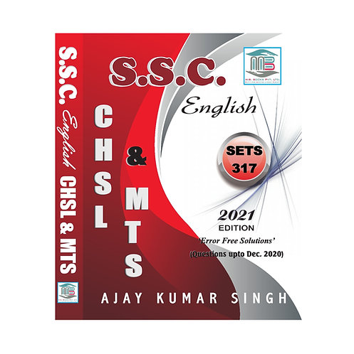 SSC English LDC & MTS 317 Sets Edition 2021