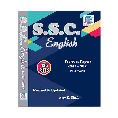 SSC English 155 Sets