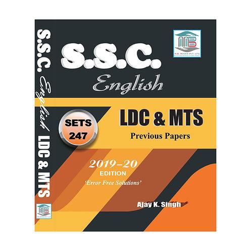 SSC English LDC & MTS Edition 20
