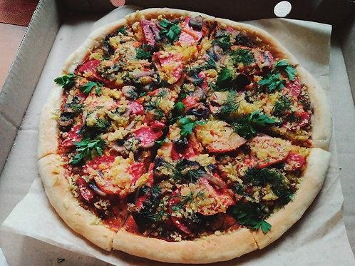Пикантная пицца, 30 см