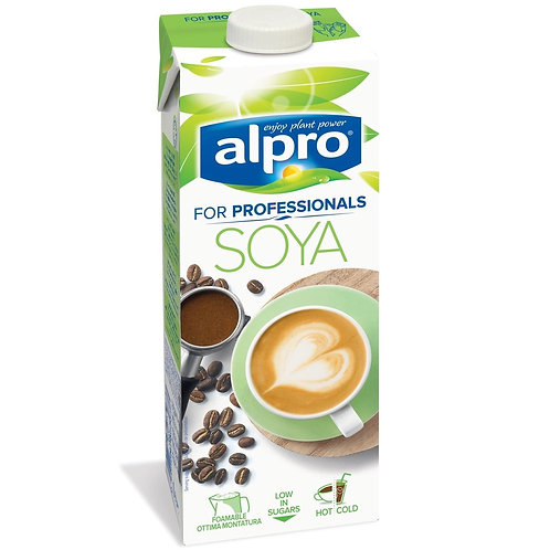 Напиток cоевый Alpro Professionals, обогащенный кальцием и витаминами, 1 л